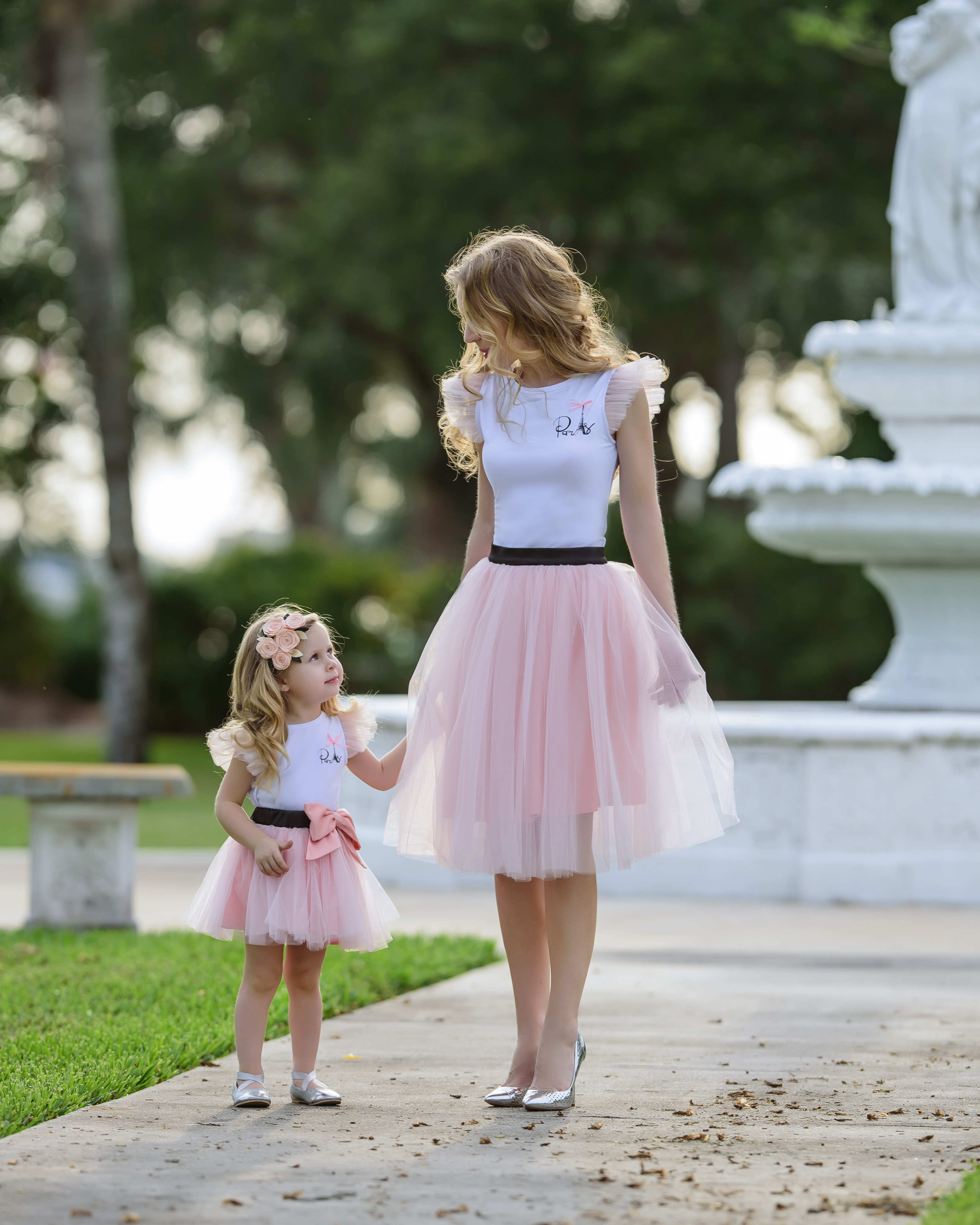 Rendezvous Tulle Skirt In Pretty Ballerina Women Elzoria