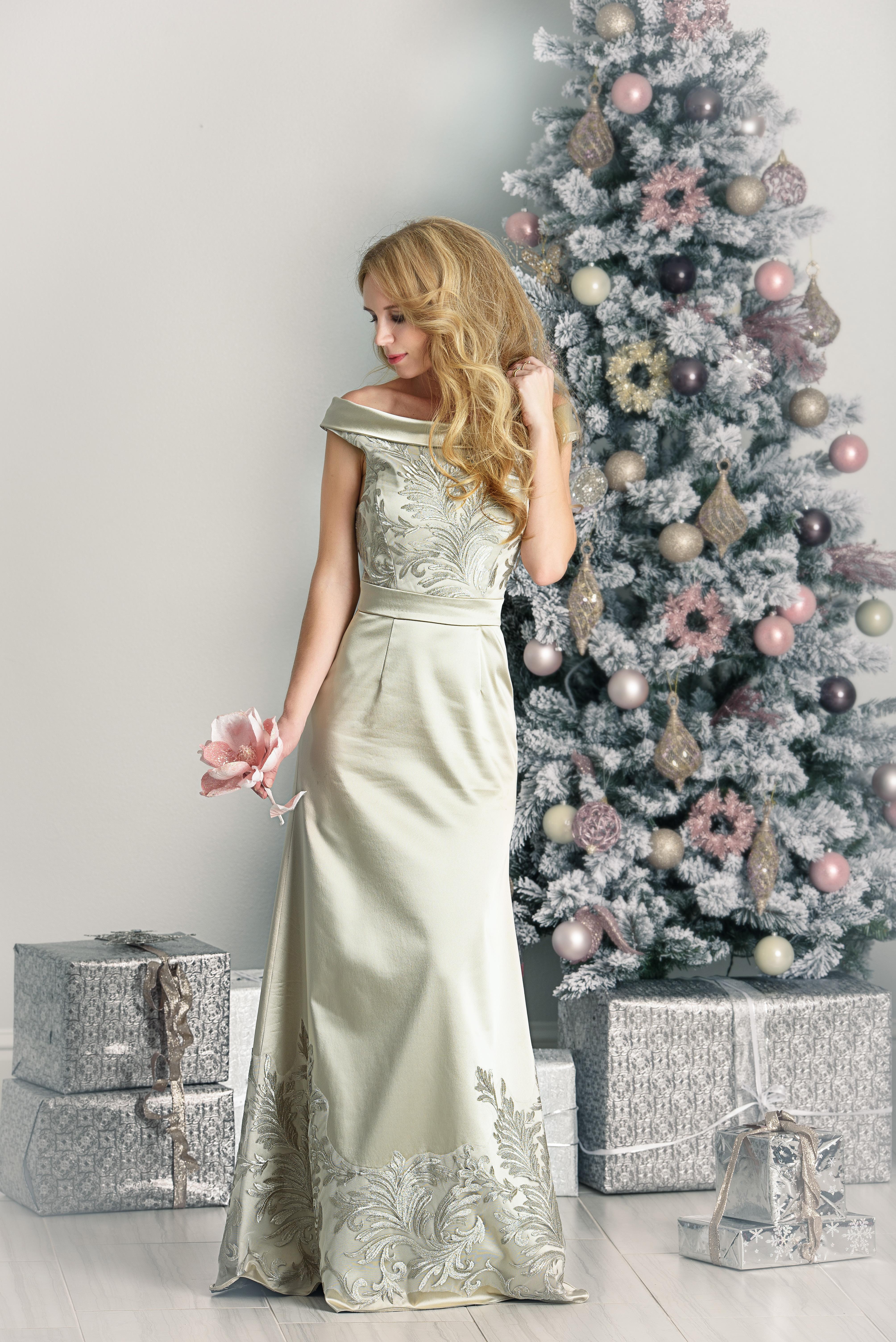 Snow Queen Dress Women Elzoria